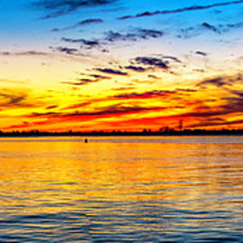 Nick Zelinsky - Barnegat  Bay Sunset