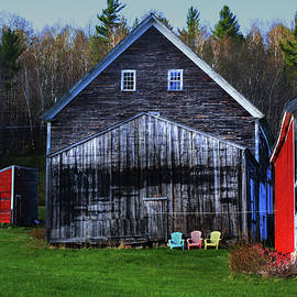 Wayne King - Barns and Chairs 3 Each