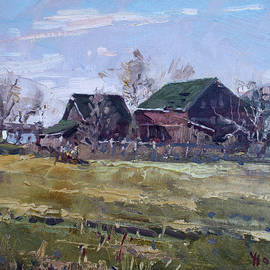 Barns in Niagara County - Ylli Haruni