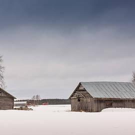 Jukka Heinovirta - Barns On The Snow Fields