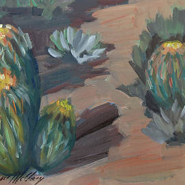 Barrel Cactus at Tortilla Flat - Diane McClary