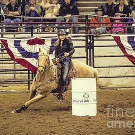 Janice Rae Pariza - Barrel Racing Cowgirl
