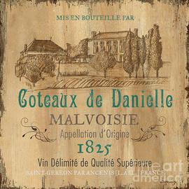 Barrel Wine Label 2 - Debbie DeWitt