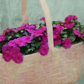 Barbara S Nickerson - Basket Of Posies