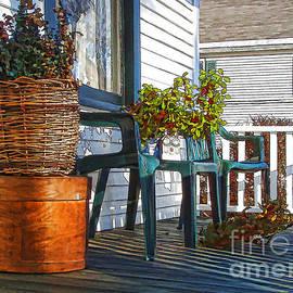 Betsy Zimmerli - Basket Porch