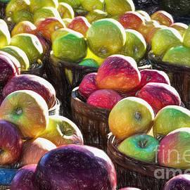 Kathy Liebrum Bailey - Baskets Of Apples