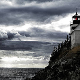 Jeff Folger - Bass Harbor lighthouse in Acadia NP