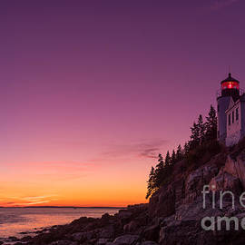 Jerry Fornarotto - Bass Harbor Lighthouse Sunset
