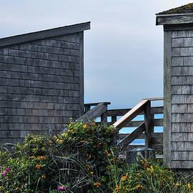 Geoffrey Coelho - Bath Houses at Nobska Beach