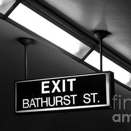 Nina Silver - Bathurst Street Subway Exit