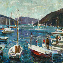 Juliya Zhukova - Bay of Tivat
