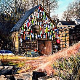 Eileen Patten Oliver - Bay View Fishing Shack Gloucester MA