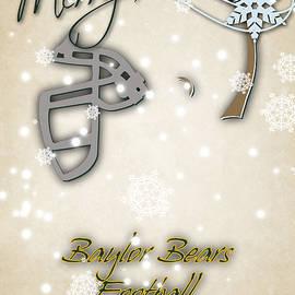 BAYLOR BEARS CHRISTMAS CARD - Joe Hamilton