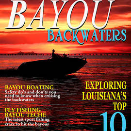 Mike Nellums - Bayou Backwaters magazine cover