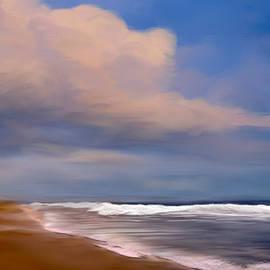 Anthony Fishburne - Beach and Whitecaps