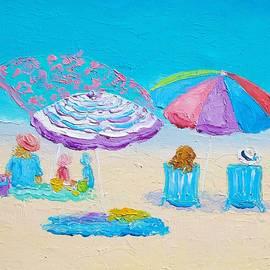Jan Matson - Beach Art - Lazy Summer Day