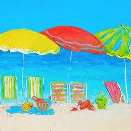 Jan Matson - Beach Art - Summer Days are here again