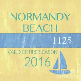 Beach Badge Normandy Beach 2 - Debbie DeWitt