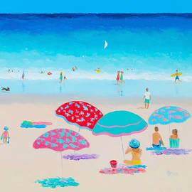 Jan Matson - Beach Painting - A Golden Day