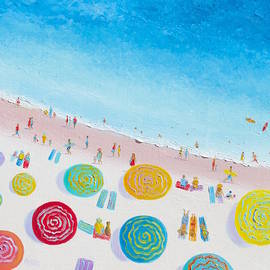 Jan Matson - Beach Painting - Beach Bliss