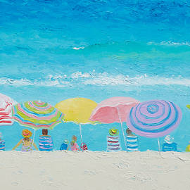 Jan Matson - Beach Painting - Color of Summer