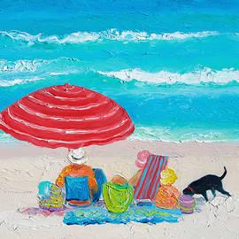 Jan Matson - Beach Painting - One Summer