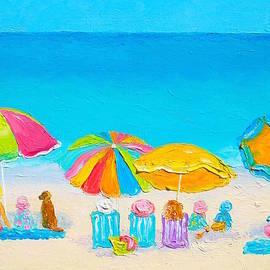 Jan Matson - Beach painting - Summer Love