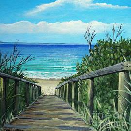Merrin Jeff - Beach Pathway to JB
