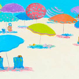 Jan Matson - Beach scene - Happy Times and Sunshine