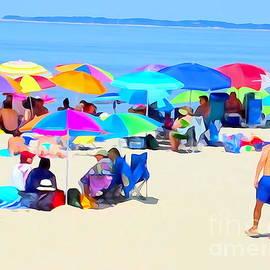 Ed Weidman - Beach Umbrellas