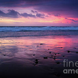 Carlos Caetano - Beach Winter Sunset 2