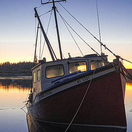Marty Saccone - Beached Fishing Boat