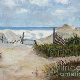 Marilyn Nolan-Johnson - Beaches of Amelia Island by Marilyn Nolan-Johnson