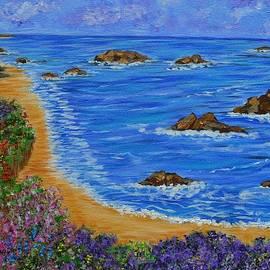 Kathy  Symonds - Beaches of Monterrey- Ocean Landscape-seascape art