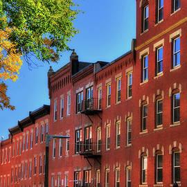 Joann Vitali - Beacon Hill Red Brick Architecture - Boston
