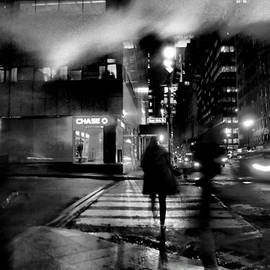 Miriam Danar - Beacons in the Mist - New York at Night