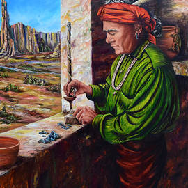 Mary Whitefeather - Bead Maker