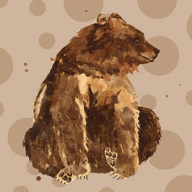 Alison Fennell - Bear Painting