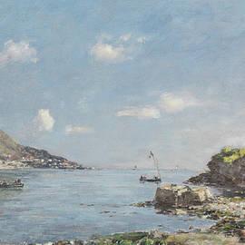 Beaulieu, La Baie des Fourmis, Morning Effect - Eugene Louis Boudin