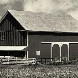 William Sturgell - Beautiful Barn in Black and White