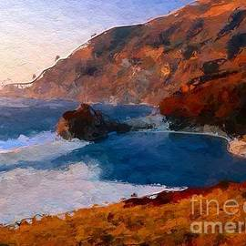 Anthony Fishburne - Beautiful Beach at Sunset