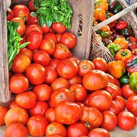 Kim Bemis - The Bountiful Harvest at the Farmer