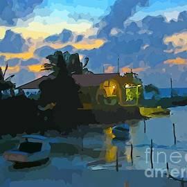 John Malone - Beautiful Inlet at Sundown