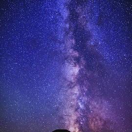 Vishwanath Bhat - Beautiful Milky way over Sand dunes at Bruneau Dunes State Park Idaho