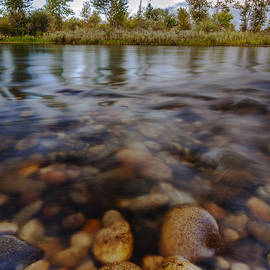 Vishwanath Bhat - Beautiful Pebbles in Boise River Idaho
