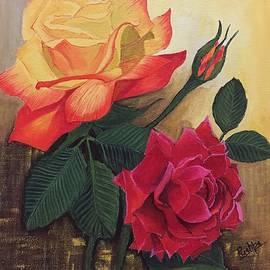 Pushpa Sharma - Beautiful red with yellow