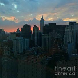 Miriam Danar - Beautiful Sky - Sunset in New York