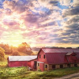 Debra and Dave Vanderlaan - Beautiful Sunrise at the Farm
