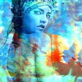 Rich Ray Art - Beauty Abstract New Mixed Media