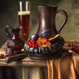 Jon Wild - Beer Cranberries Plums and Pomegranate